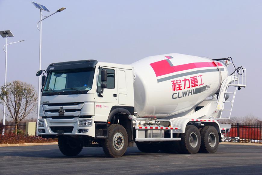 重汽豪沃12方搅拌车(T6)
